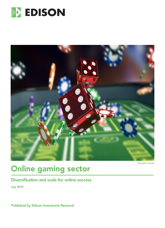 July 2019 Gaming sector report cover