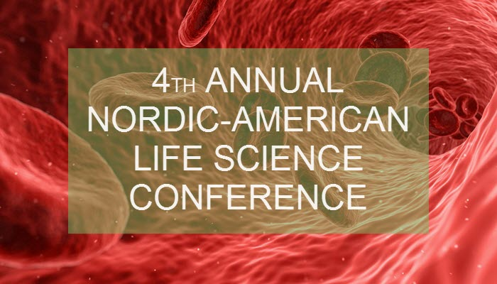 4th Annual Nordic-American Life Science Conference - feature image 23102019