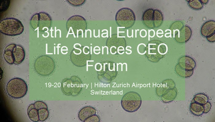 Event - Sachs 13th​ Annual European Life Sciences CEO Forum - feature image 01112019