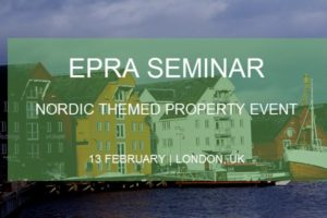 EPRA seminar – Nordic themed Property event 13022019