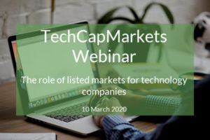 TechCapMarkets - The role of listed markets for technology companies webinar feature image